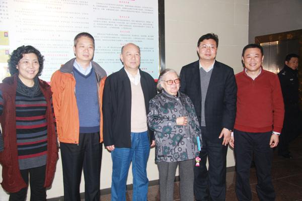 2013年3月29日原国家主席李先念夫人林佳楣莅临图片